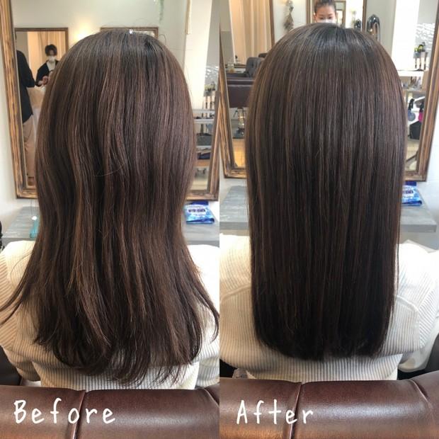 【ヘアケア】めるるが週2で通う美髪トリートメント!9種の美髪成分重ねづけでサラツヤヘアに♩