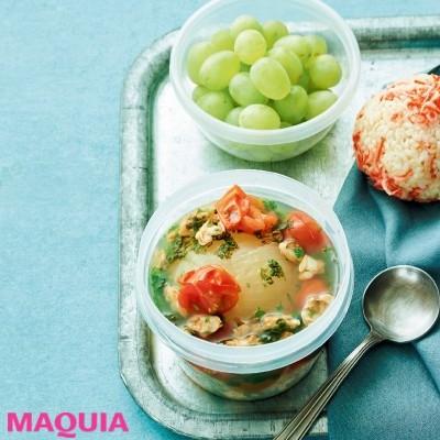 【美容スープレシピ】滋養強壮にいいあさりで夏バテ撃退「丸ごと玉ねぎとあさりのスープ」