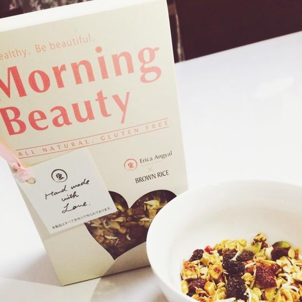 朝食だけじゃなくおやつにも!Morning Beauty!