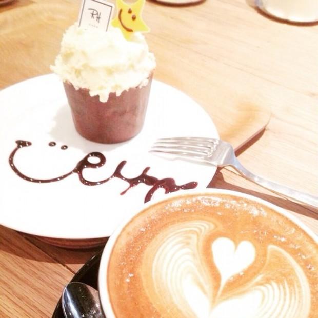 ロンハーマンカフェでお茶しました♡