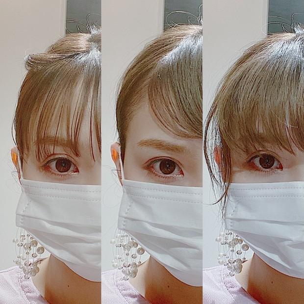 【前髪だけで印象に差をつける!】本当に時間のない朝に。マスク映えもする前髪スタイル3種類ご紹介。