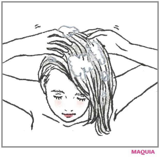 【ニキビケア】頭皮や生え際ニキビはシャンプー選びで改善2