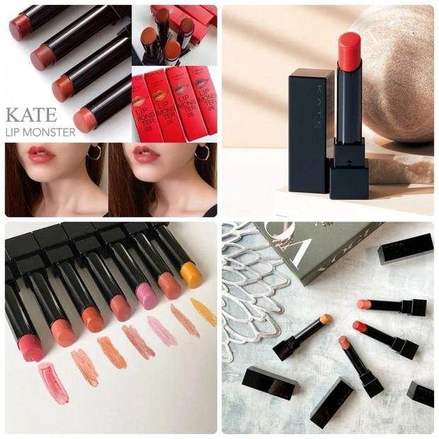 全色比較も! ケイト「リップモンスター」の新色・限定色を総まとめ。色持ちや発色など口コミをチェック