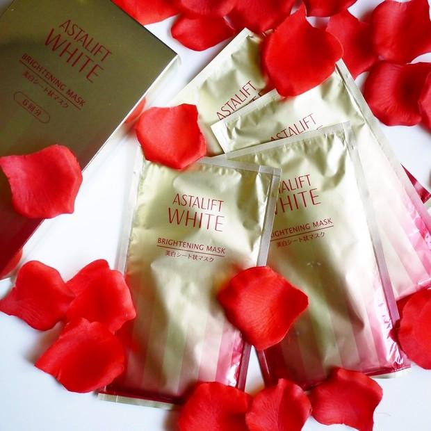 【おこもり美容】今こそ美白!アスタリフト赤の美白マスクでエイジングケアしながら美白ケア!