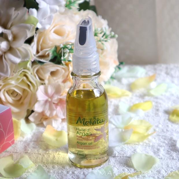乾燥肌に、アルガンオイルがおすすめ!メルヴィータ ビオオイル アルガンオイル ローズ❤限定の香りが定番化!_6