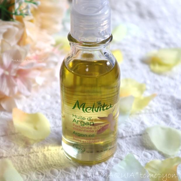 乾燥肌に、アルガンオイルがおすすめ!メルヴィータ ビオオイル アルガンオイル ローズ❤限定の香りが定番化!_1