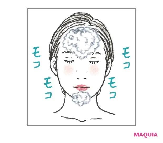 【ニキビケア】白ニキビはおこもり解除が先決_優しく角質オフする洗顔に切り替える_2