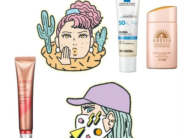 「マスクで肌が敏感に」「肌が乾燥しやすい」など、肌ニーズ別に選ぶ最適UVは?
