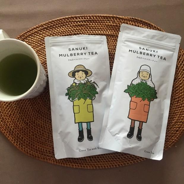 ミネラル成分たっぷりの美味しいお茶、発見❤️