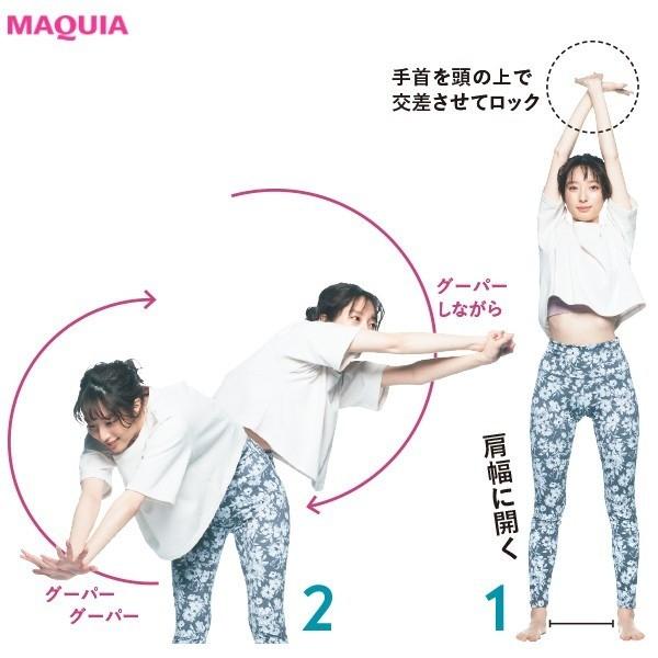 3. イライラや眠気も吹き飛ぶ グーパー大回転(左右3回)
