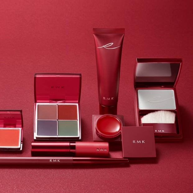 赤が艶やか! RMKの2020秋コレは歌麿の美人画にインスパイア。8月1日数量限定発売
