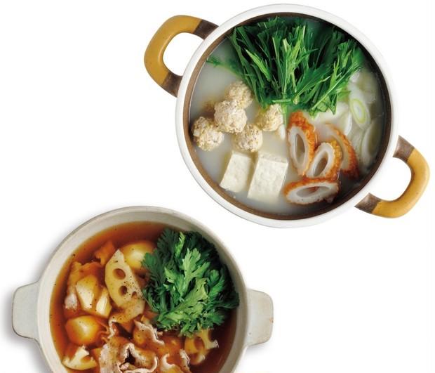 美人のモト☆ キレイを作るごちそう【鶏だんご鍋&黒酢鍋の作り方】