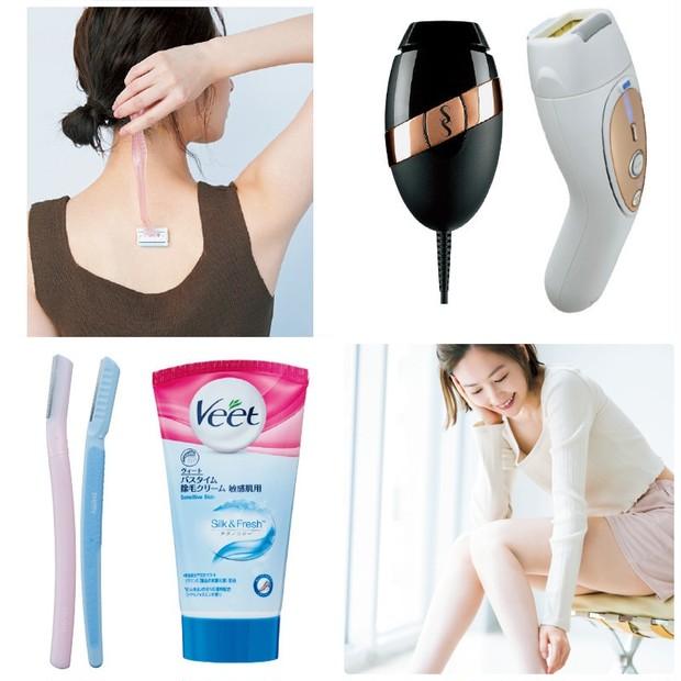 ムダ毛処理におすすめの商品(女性向け)| ワックス、シェーバー、脱毛器などセルフ脱毛に役立つアイテムまとめ