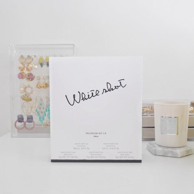 【とにかく美白になりたい】POLAホワイトショットをラインで試せる限定セットを発見!
