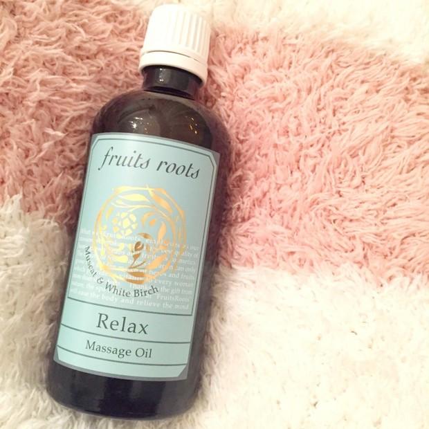 甘い香りにうっとり♡国産オーガニックコスメ「フルーツルーツ」のRelax マッサージオイル