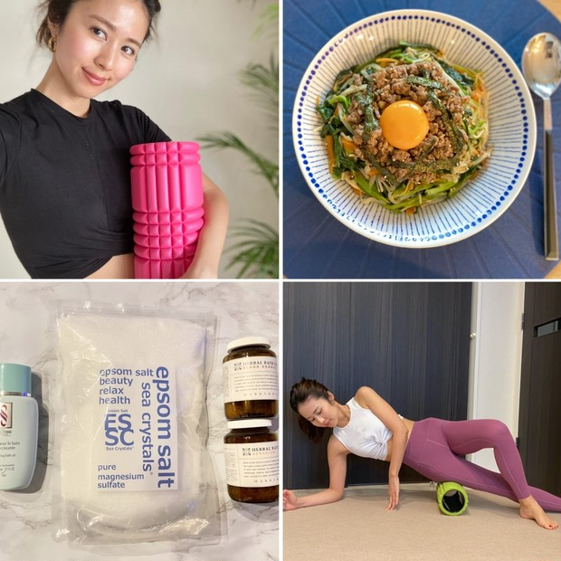 13kg痩せたダイエット美容家・安藤絵里菜さんが実践中の宅トレ・食事・入浴法
