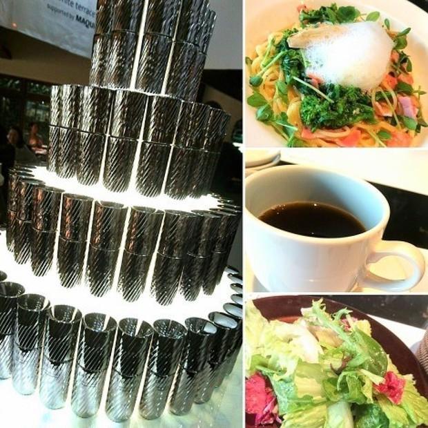 行ってきました!「Decorte×MAQUIA Royal Garden Cafe 青山」