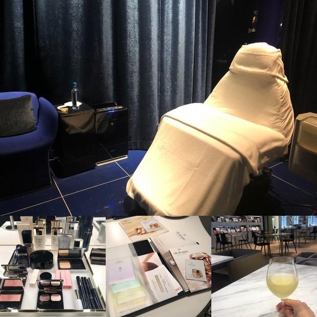 【エステ】クレ・ド・ポー ボーテのエステティックサロンで過ごすご褒美美容Day*カフェやコスメのタッチアップも充実
