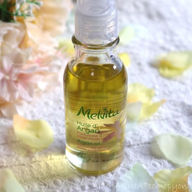 乾燥肌に、アルガンオイルがおすすめ!メルヴィータ ビオオイル アルガンオイル ローズ❤限定の香りが定番化!