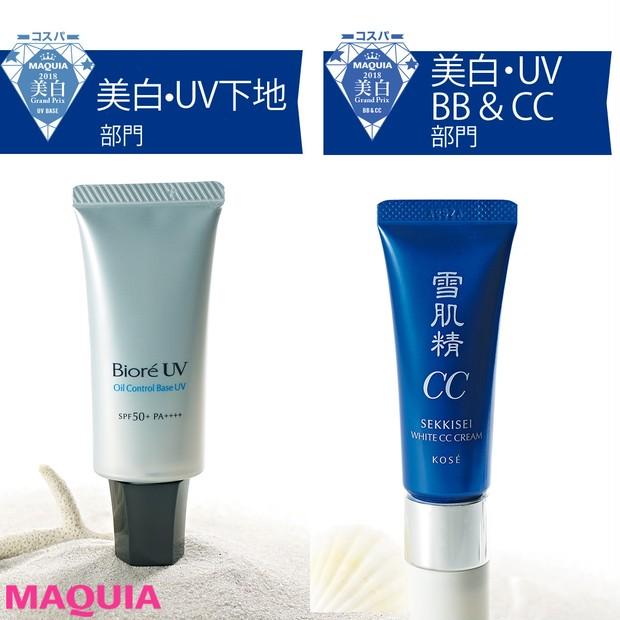 【コスパ美白・UVグランプリ】肌に仕込む¥3000以下の紫外線対策