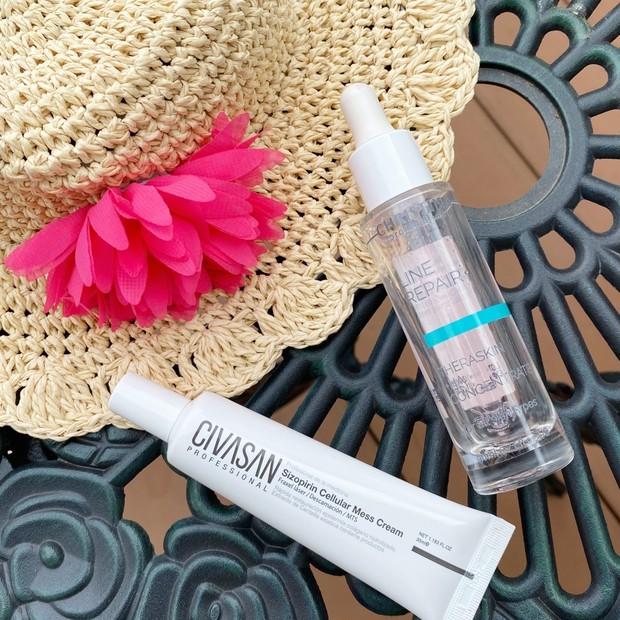 紫外線を浴びた肌に!この夏私の肌を救ってくれた超優秀保湿美容液と万能再生クリームをご紹介します♪