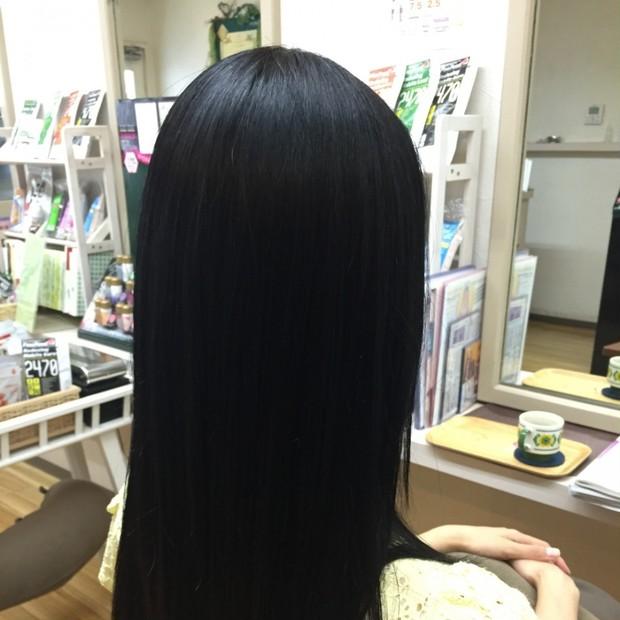 Good bye to my frizzy hair!! 「さようなら私のくせ毛ちゃん!!」