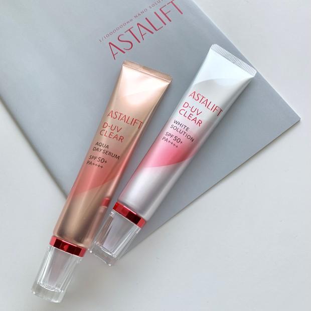 肌質・なりたい肌で選べる!ASTALIFT[アスタリフト]D-UVクリア2種の使用感・仕上がり・違いをスウォッチ多めでレビュー _9