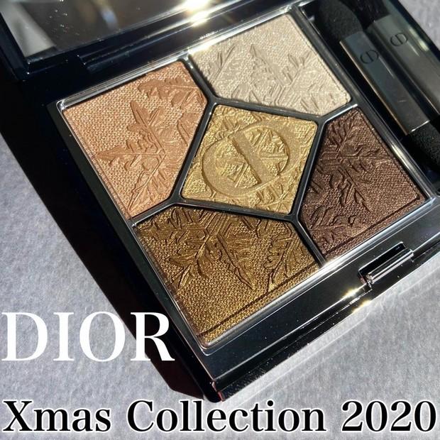 『DIOR』クリスマスコレクション2020 【サンク クルール クチュール】ゴールデンスノー