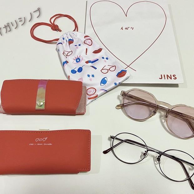 【完売続出!!】J!NS×イガリシノブ メーキャップメガネを購入しました♪