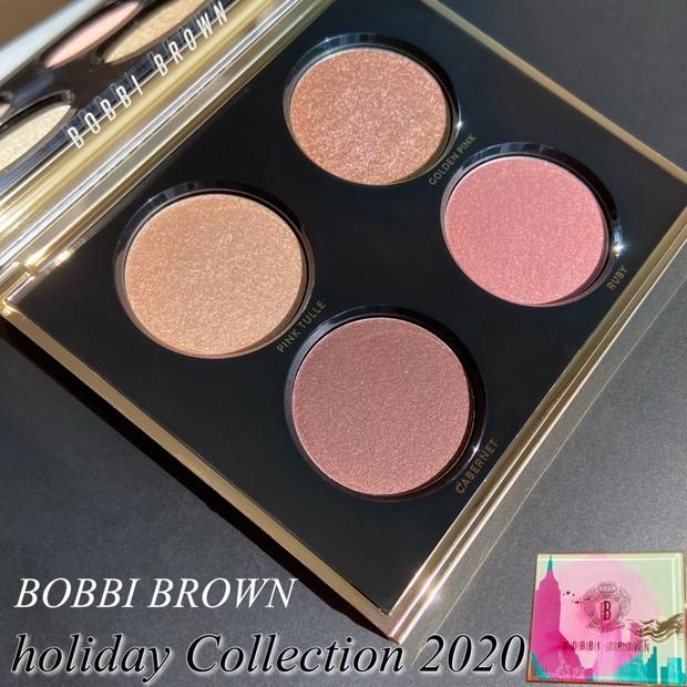 『BOBBI BROWN』ホリデーコレクション2020 【リュクス アンコール アイシャドウ パレット 】バーガンディー