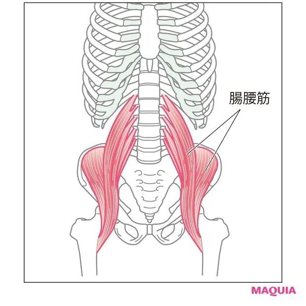 【ウエストのくびれの作り方】脚の付け根周りをほぐして姿勢改善「腸腰筋ほぐし」_1