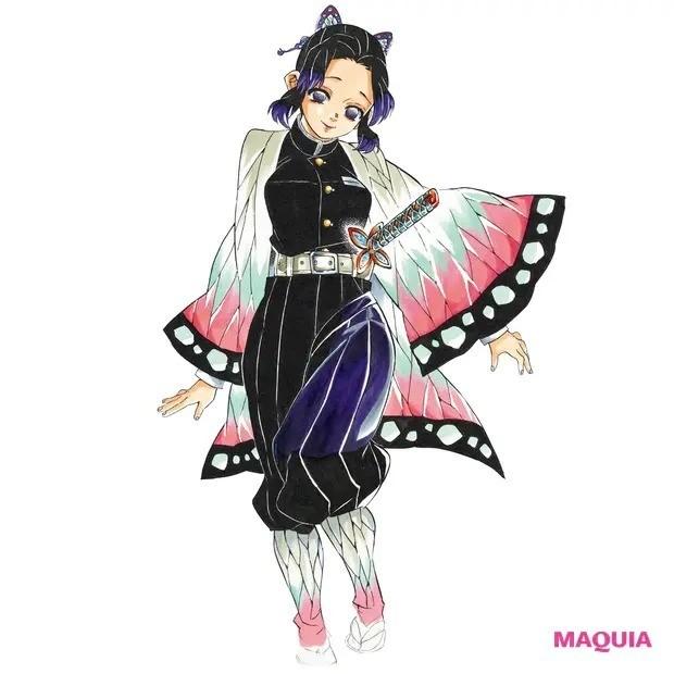 【鬼滅の刃なりきりメイク】胡蝶しのぶ_蝶のように軽やかに舞う才色兼備の蟲柱