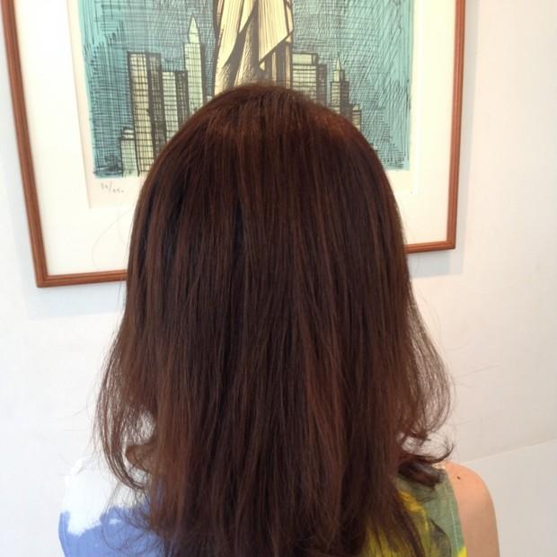AVEDA秋色カラーで髪も心も癒されました@自由が丘 Si Beaux