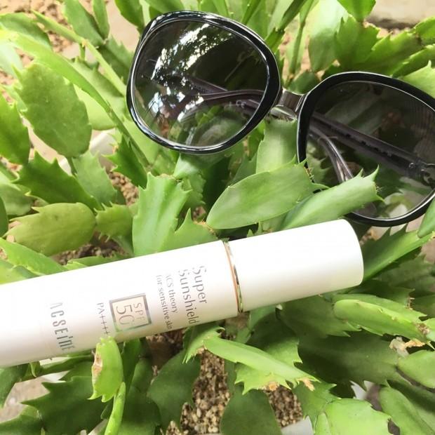 【日焼けケア】汗かいても美肌続く。敏感肌でも毎日使える高機能日焼け止め♪