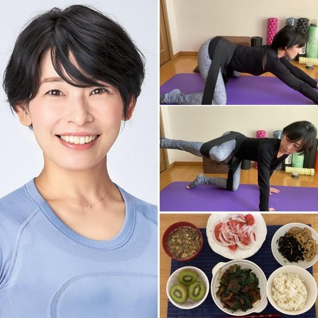 神崎恵BODY担当トレーナー・星野由香さんに学ぶおうち時間の過ごし方