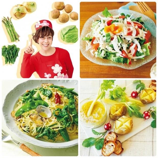 平野レミさんの簡単レシピ10選 | キャベツ、アスパラ、じゃがいもなど旬の春野菜で作るおすすめの料理