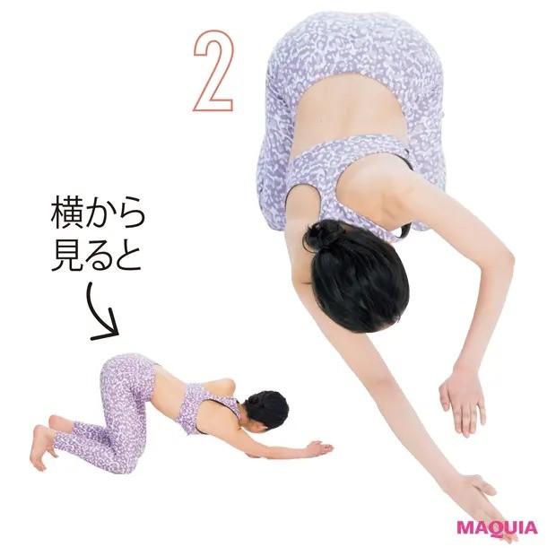 【ウエストのくびれの作り方】自重を利用し、広背筋トレーニング_2