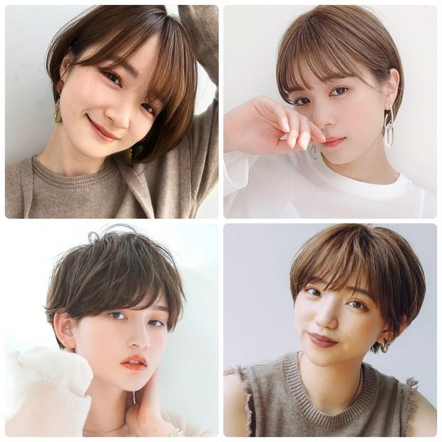 【ヘアカタログ】ショートのヘアスタイル・髪型15選