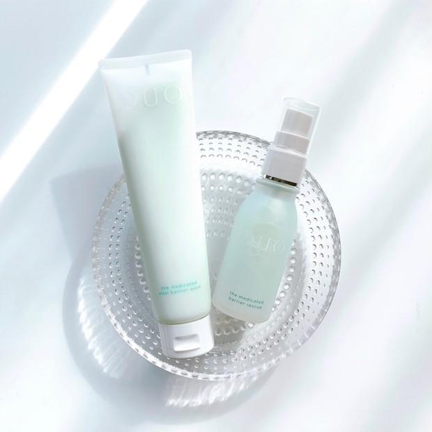 【NEW】大人気のDUO(デュオ)から1月20日(水)敏感に傾いた低バリア肌のための泡立てない洗顔料&ミスト美容液発売。