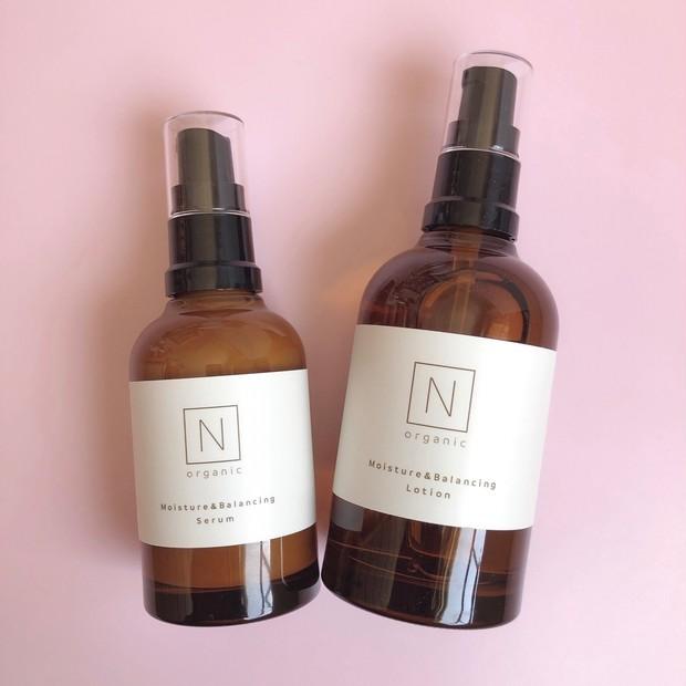 N organic(Nオーガニック)ゆらぎ対策をして素肌を綺麗に♪シンプル2ステップスキンケア