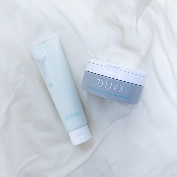 【朝晩でアイテムを使い分け!】DUOで洗顔ケア
