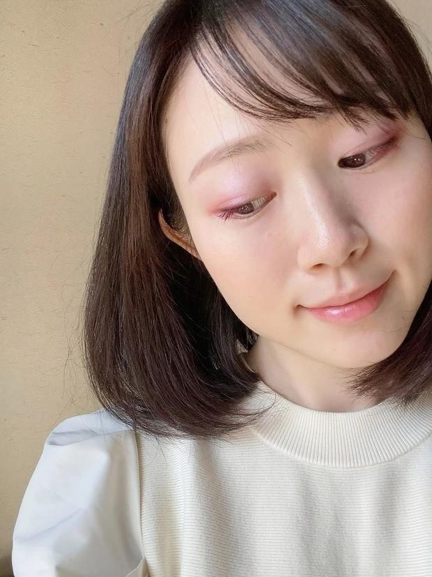 【桜コスメ】桜色アイシャドウをメインに使った春メイク_