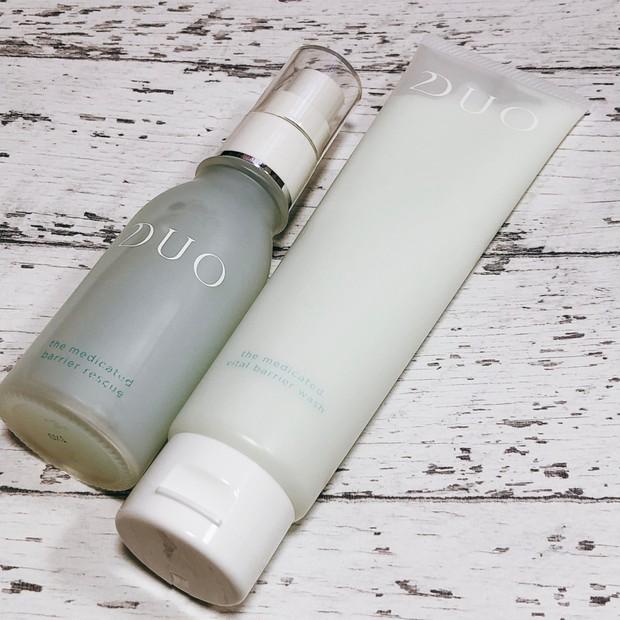 【2021年1月新発売】DUOの薬用洗顔料&先行美容液をレビュー!