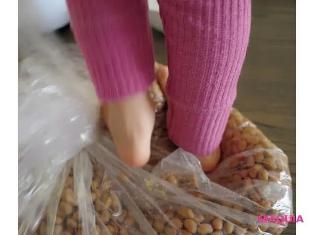 美賢者たちの手作り発酵食_高垣麗子さん_発酵食作りは3歳の娘も参加