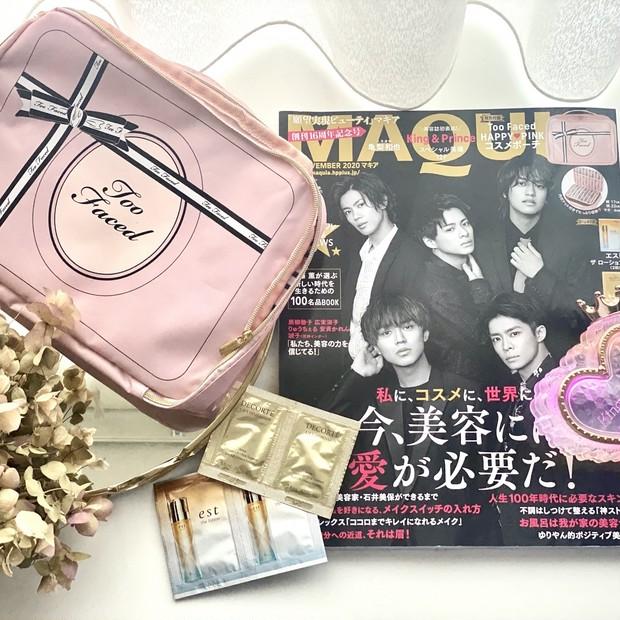 キンプリのスキンケア事情って?!今月のMAQUIA♡macle目線の見どころは、キンプリちゃん&マニアック美容&なりたい顔♪