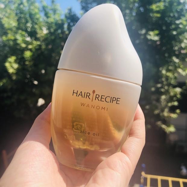 【髪のスーパーフード】P&G ヘアレシピ 和の実 さらとろライスオイル