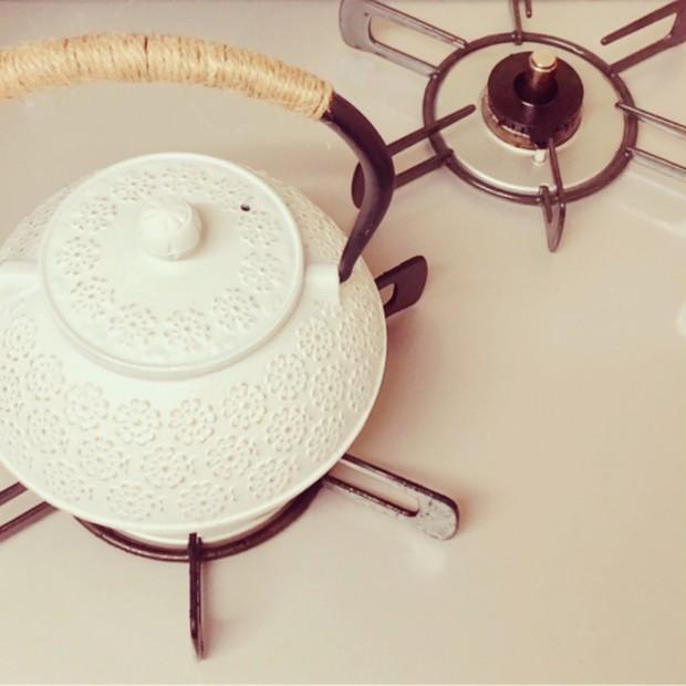 貧血予防?!鉄不足、冷え性 に・・・鉄瓶で沸かす白湯のすすめ
