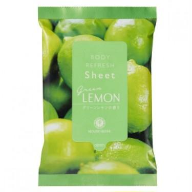 ボディリフレッシュシート GL(グリーンレモンの香り)