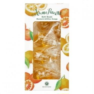 アロマルセット ハウス オブ ローゼ アロマルセット バスビーズ MD&BO n(マンダリン&ビターオレンジの香り)