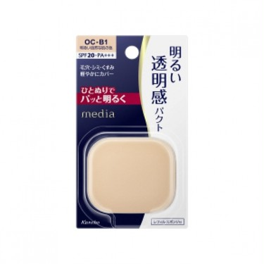 media カネボウ化粧品 ブライトアップパクト(レフィル)